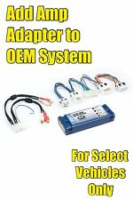 Add an Amp Amplifier Adapter Interface for Infiniti/Nissan OEM Factory Radio