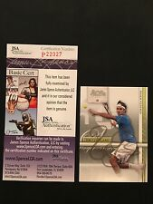 ROGER FEDERER 2007 ACE AUTHENTIC SIGNED AUTOGRAPH CARD #90 TENNIS JSA CERTIFIED