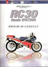 Honda RC30 VFR750R Buch Book Parts Catalogue DVD Kit (VFR 750 RVF 400)