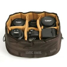 Ciesta Flexible(L) Camera insert Partition Padded Bag Case for DSLR SLR Lens