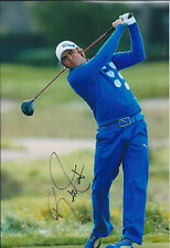 Rickie FOWLER SIGNED Autograph 12x8 Photo AFTAL COA GOLF Wells Fargo CHAMPION