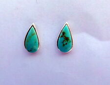 Pair Of Sterling Silver  925  Teardrop  Ear Studs  !!       New  !!