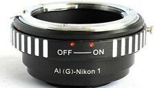 Nikon G AF-S AI F to Nikon 1 Lens Mount Adapter J1 J2 J3 V1 V2 AIG-N1