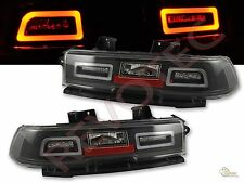 Black LED Tail Lights 2014-2015 Chevy Camaro  RH & LH 1 Pair Play & Play