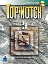 Top Notch 2 with Super CD-ROM Split A (Units 1-5) with Workbook and Super CD-ROM