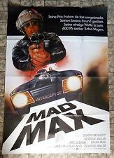 MAD MAX * A0-FILMPOSTER - XXL 118 x 83cm - German 2-Sheet Mel Gibson 1980 KULT