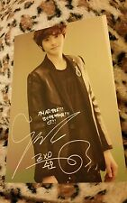Exo suho genie rare OFFICIAL postcard Kpop k-pop infinite bts got7 b.a.p vixx