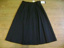 Max Mara skirt.RRP £185.Size 8.Black.Virgin wool.New+tags.W 28""