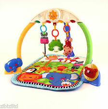 baby play mat musical tracking lights & sounds activity playmat