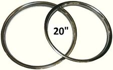 "20"" BBS WHEEL TRIM - STAINLESS STEEL - FITS JAGUAR - PORSCHE - VW - MADE IN UK"