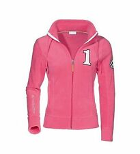 Porsche Ladies No 1 Fleece Jacket Pink  Size: Medium Genuine Merchandise
