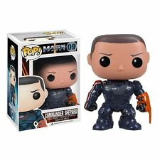 MASS EFFECT COMMANDER SHEPARD COMANDANTE FIGURE VINYL POP FUNKO PS3 2 3 GAME #1