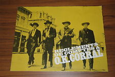 BURT LANCASTER KIRK DOUGLAS GUNFIGHT AT THE O.K. CORRAL 1957 RARE SYNOPSIS