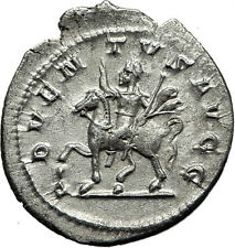 PHILIP I the ARAB on horse 245AD Rome Authentic Ancient Silver Roman Coin i59186