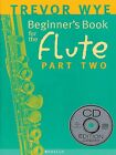 Beginner's Book for the Flute Part Two Book and CD NEW 014003808