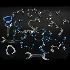 1 Kit New 18 Pcs/Kit Dental Intraoral Cheek Lip Retractor Opener All Type Italy