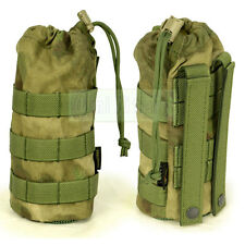 Flyye MOLLE Water Bottle Pouch A-TACS FG 1000D Cordura FY-PH-C001-FG
