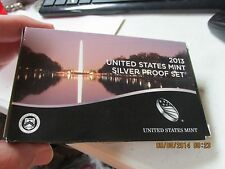 2013  U.S. Silver Proof Set  OGP  COA   Several Years Listed  FREE SHIP!!