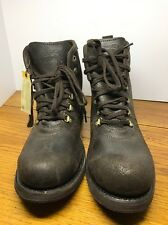 NWT men's CATERPILLAR  Ruben anckle boots brown leather Size 10M