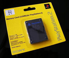 PS2 32MB Memory Card for SONY Playstation 2 Console Set ~ Sealed 32 MB Game Save