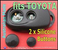 fits TOYOTA Camry Avalon Altise remote key - Silicone BUTTONS replacement (1set)