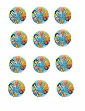 Bubble Guppies Premium Edible Image Cupcake Toppers (12 per sheet)