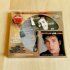 Bob Dylan - Live 1964 Concert at Philharmonic Hall Audio Fidelity 5.1 SACD