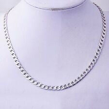 fashion Women's Unisex White Gold Filled Link Chain long Necklace jewelry