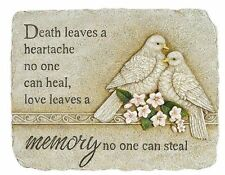 Memorial Garden Stepping Stone with doves (63465) NEW