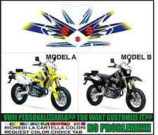kit adesivi stickers compatibili drz 400 sm 2006