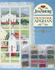 Jim Shore - Countryside Afghan Pattern + Embellishment Pack