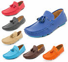 MENS BRAND NEW LEATHER LOOK DESIGNER INSPIRED LACE UP SLIP ON BOAT/LOAFERS SHOES