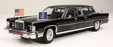 1/24 1972 Presidential Limo - Lincoln Continental Ronald Reagan Die-cast Car MIB