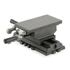 """EBERTH 3"""" 2 axis cross table milling drilling machine bench vice vise precision"""