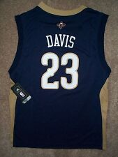 2015-2016 New Orleans Pelicans ANTHONY DAVIS nba ADIDAS Jersey YOUTH KIDS BOYS s