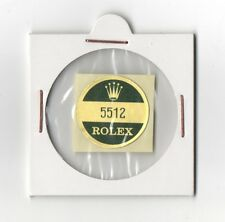 ROLEX 5512 Sticker Caseback SUBMARINER VINTAGE New Old Stock 200m Chronometer