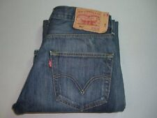Mens LEVI'S STRAUSS & CO. 501 Blue Denim Jeans W32 L32 Straight Leg 32x32