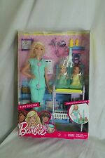 NEW 2016 Barbie Careers I Can Be a Barbie Baby Doctor Doll Playset Twin Babies
