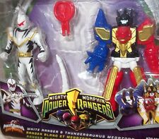 MMPR 2010 power rangers RARE MIGHTY MORPHIN THUNDERSAURUS MEGAZORD mini figures