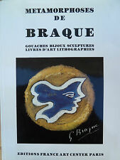 Metamorphoses de Braque, ISBN:2907906119, Georges Braque, Kunst,