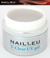 10ml 1-phase gel NAIL1.EU T CLEAR klar/ Builder Reconstruction structure