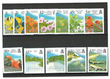 BIOT B.I.O.T. 383-394 SG 414/25 Sea Life - Birds Definitive PO Fresh Set Mint NH