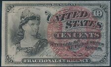 Fr1259 10¢ 4Th Issue Fractional Currency Very Choice Cu Br5574