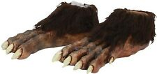 Werewolf Feet Wolf Deluxe Ape Cosplay Costume Accessory Brown Adult Scary 25361
