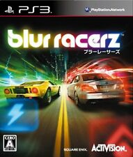 (Used) PS3 Blur Racerz [Import Japan]((Free Shipping))、、