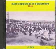 GENEALOGY DIRECTORY OF DORSETSHIRE 1851 CD ROM