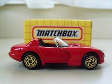 "MATCHBOX ""THE ORIGINAL COLLECTIBLES"" MB 10 - DODGE VIPER RT/10 - DIECAST"