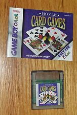 HOYLE CARD GAMES  (Nintendo Game Boy Color)  Adult Owned