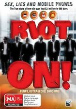Riot On! - Sex, Lies And Mobile Phones DVD Region 4 (VG Condition)