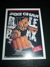 RUMBLE IN THE BRONX, film card [Jackie Chan, Anita Mui]